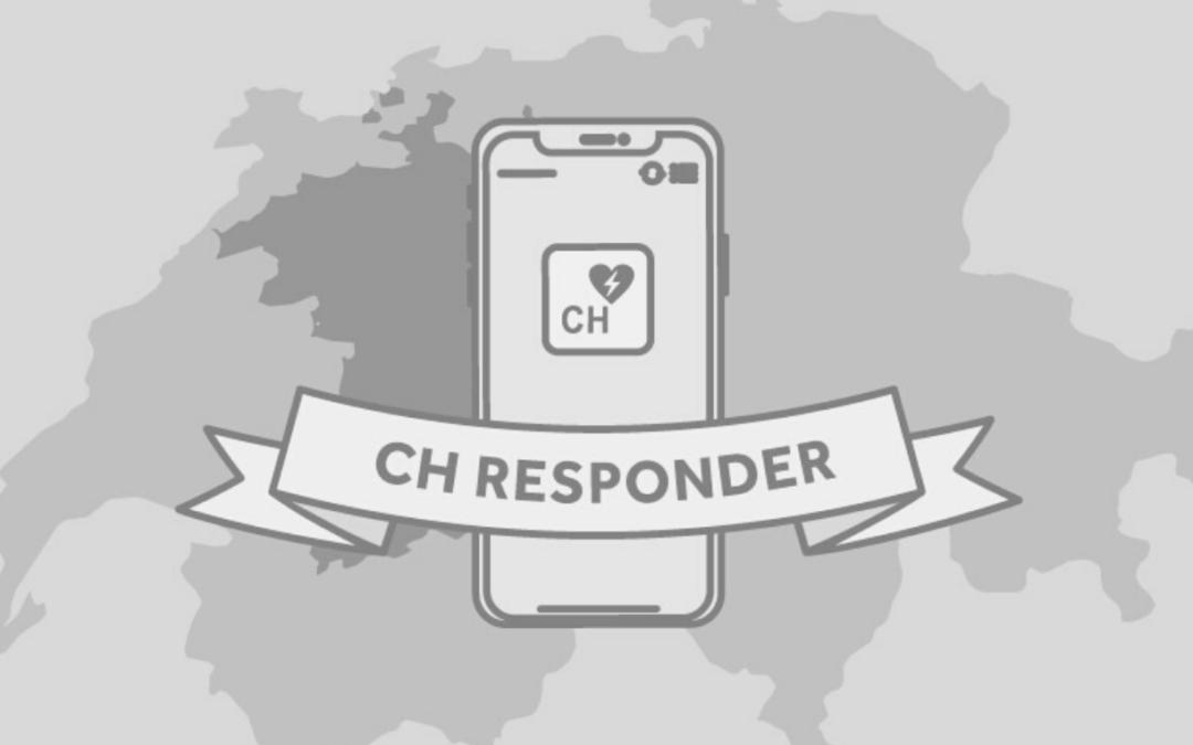 CH Responder: l'APP per i First Responder in Svizzera.